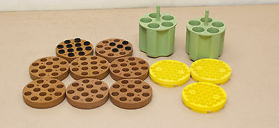 Assorted Centrifuge Adapters Sorvall - Lot Of 13  (Location - Rack 24)