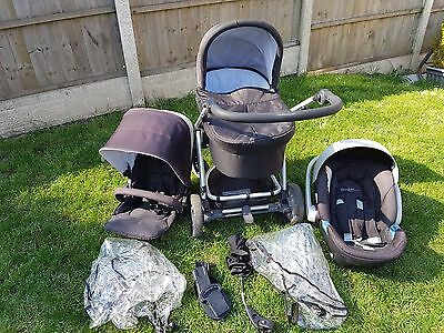 Mamas And Papas Sola Pushchair full travel system