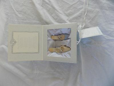 """2002 Just the Right Shoe """"From This Day Forward Wedding Gift Set"""" #25777 COA"""