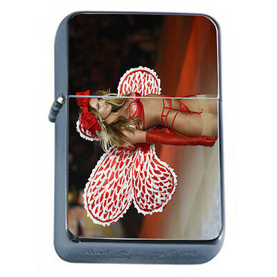 Russian Pin Up Girl D3 Windproof Dual Flame Torch Lighter Refillable