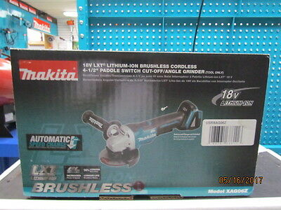Makita XAG06Z Cordless Grinder (TOOL ONLY)