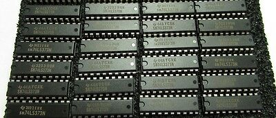 TI SN74LS373N IC Integrated Circuit 20Pin - Lot of 24 Pieces NEW NOS PKG
