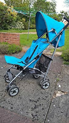 Chicco London Baby/stroller/pram/pushchair Turquoise/ Excellant Condition