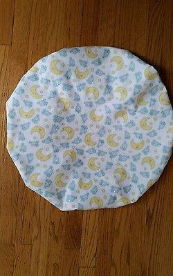 """Baby Boppy Newborn Lounger Pillow Cover """"Sheep Jumping Over Moon"""" Pattern~NEW"""