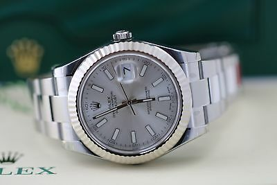 Brandnew Rolex DATEJUST II 116334  Silver Dial w/ Luminous Watch Stainless Steel