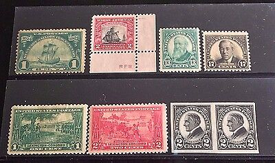 US STAMPS Lot of (8) Various Early Classics MINT OG/NG NH-H -15