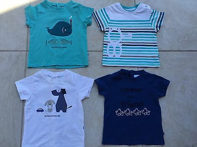 Lot 4 Tee Shirt Obaibi 6 Mois