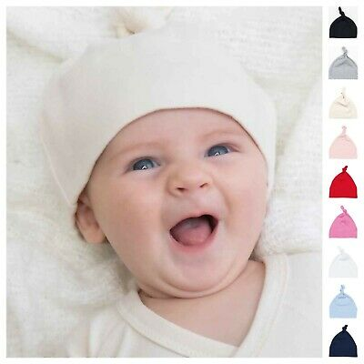 New Boys Girls Newborn Baby Infant Cotton Cute Hat Beanie Cap 0-9 Months FreeP&P