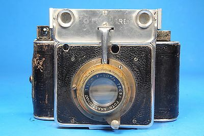 Rare Foth Derby Rangefinder Camera Germany with 50mm 1:2.5 lens