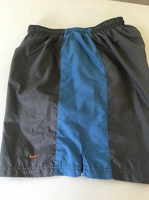 Womens Nike Tempo Short Running Shorts Dri-FIT  M Medium Blue Vintage Old