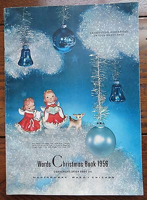 Vintage 1956 Montgomery Ward Wards Christmas Wish Book Catalog Catalogue 296 Pgs