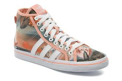 ADIDAS Originals WOMEN'S FARM CURSO d'agua tela Honey Mid Scarpe da ginnastica S25873