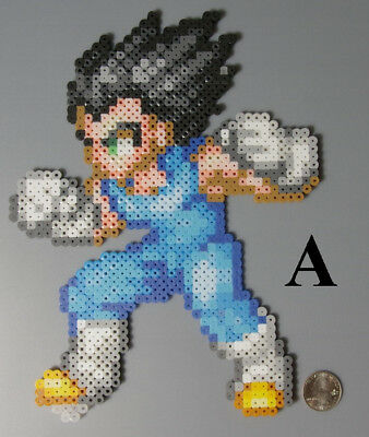 Vegeta Dragon Ball Z Toriyama Shonen Jump Perler Beads