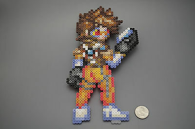 Tracer Overwatch Blizzard Perler Beads
