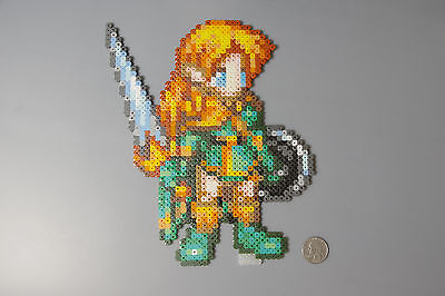 Elf Dungeons and Dragons Capcom Perler Beads