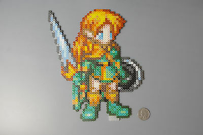 Perler Beads Elf Dungeons and Dragons