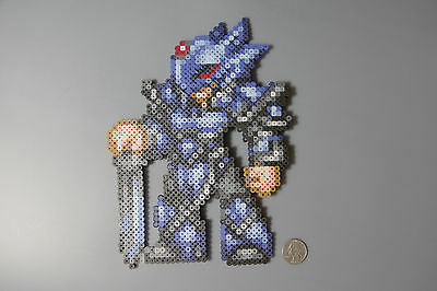 Cecil Harvey Dark Knight Final Fantasy 4 Squareenix Perler Beads