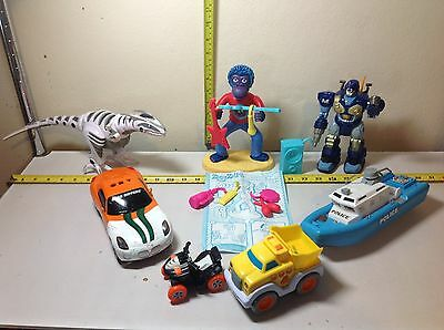 Toy Robot, Robo Raptor and other assorted toys
