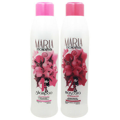 Treatment Keratin Brazilian Maria Scandalous Progressive Intelligent 2x1000ml.