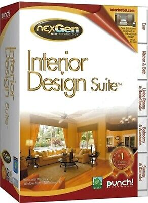 Punch Interior Design Suite. Brand New Retail Box. Fast / Free Shipping!