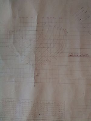PLANS for 35ft (10.7 metre) Ketch – Yacht – Sail