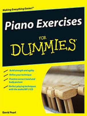 Piano Exercises For Dummies Book & Cd