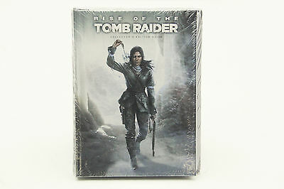Rise of the Tomb Raider Collector's Edition Guide (Hardcover) NEW