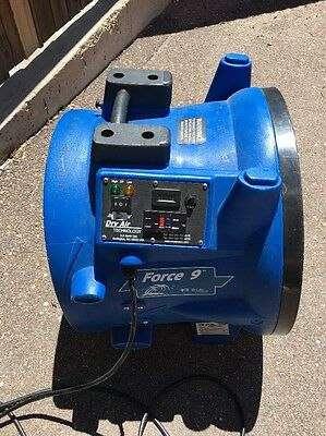(MA2) Force 9 Dry Air 2-Speed Industrial Air Fan Blower / Dryer Used