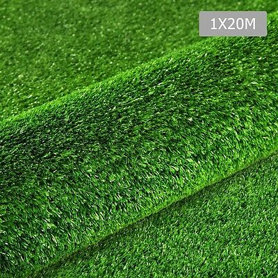 Artificial Grass 20 SQM Synthetic Artificial 15mm Premium UV Turf Flooring Mat