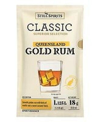 Still Spirits Classic Queensland Gold Rum Essence 2 Sachets - Home Brew Spirits