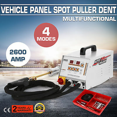2600A Vehicle Panel Spot Puller Dent Spotter Stable New Mig Simple To Handle