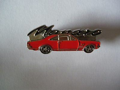 Red Monaro Holden High Detail Quality Lapel Pin Badge biker car mens shed sports