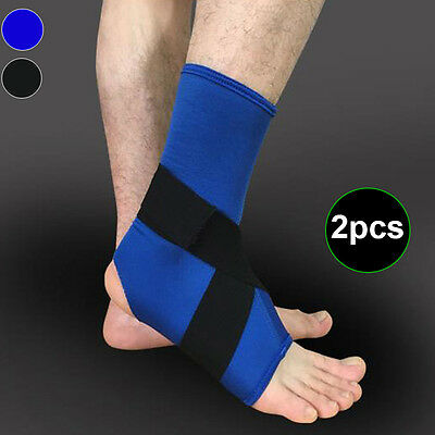 2Pcs Sports Ankle Support Elastic Protect Safety Running Basketball Ankle Bracer