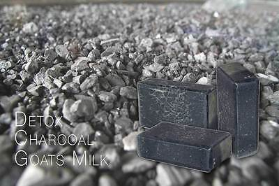 Soap  4x Activated Charcoal Goats Milk Yarra Valley Natural Products