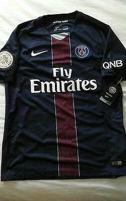Maillot PSG champion 2016, taille L, neuf