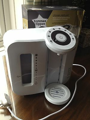 Tommee Tippee Closer To Nature Perfect Prep Machine white with box