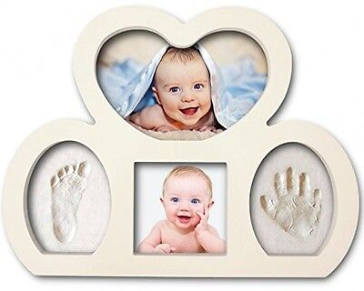 Newborn Babyprints Kit - Baby Handprint And Footprint Photo Frame Keepsake. and