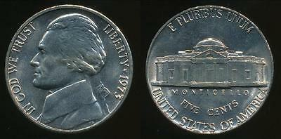 United States, 1973-P 5 Cents, Jefferson Nickel - Uncirculated