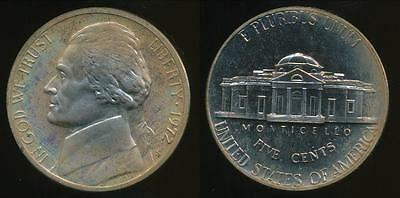 United States, 1972-S 5 Cents, Jefferson Nickel - Proof