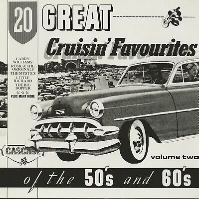 Various - 20 Great Cruisin' Favourites Of The 50's And 60's, Vol.2 (LP) - Vin...