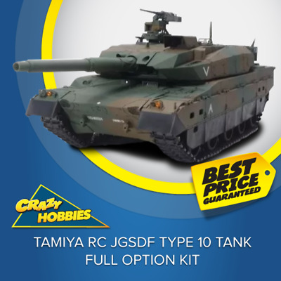 Tamiya RC JGSDF Type 10 Tank - Full Option Kit