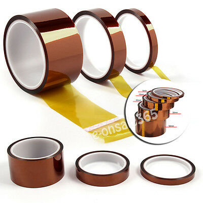300℃ Heat Resistant Kapton Tape for sublimation Transfer Thermal Polyimid Tape