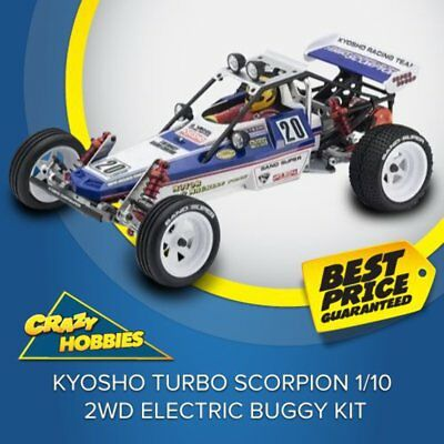 Kyosho Turbo Scorpion 1/10 2WD Electric Buggy Kit