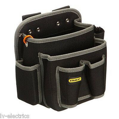 Stanley Electricians Electrical Tool Pouch Holder Case Storage Bag