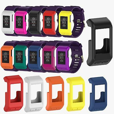 10X Silicone Rubber Case Cover Sleeve Protector for Garmin Vivoactive HR Tracker