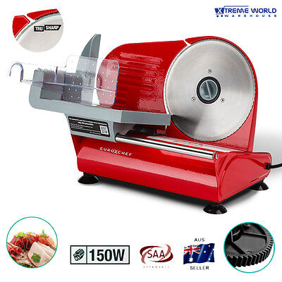 150W Electric Motor Stainless Steel Meat Slicer