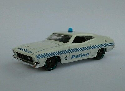 Matchbox Ford Falcon Xb  Coupe  Victorian  Police Custom 1/64