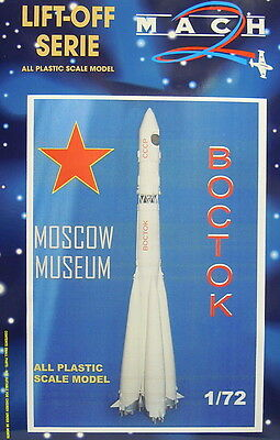 Wostock, Moscow Museum, 1:72, Plastic Model Kit, Mach 2, Novelty
