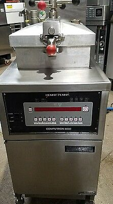 used Henny Penny Model 600 Gas Pressure Fryer with Computron 8000
