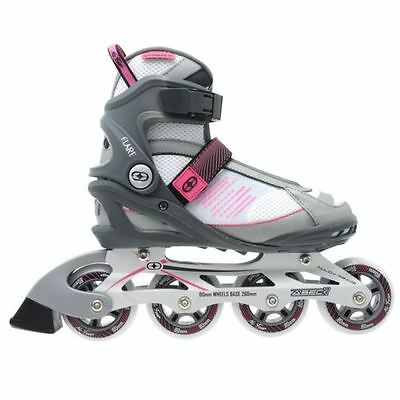 No Fear NEW  Womens Ladies Flare Inline Skates Roller Blades  UK 6 ( 39 ) B512-1